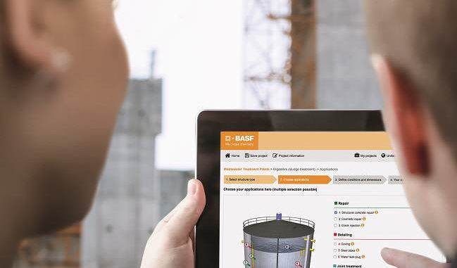 Online Planning Tool, Master Builders Solutions de BASF