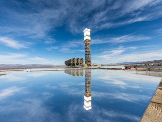 Tower-reflection-solar-thermal