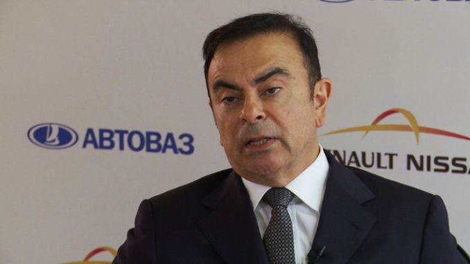 Carlos Ghosn-Nissan