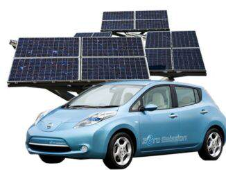 Vehiculo electrico recarga