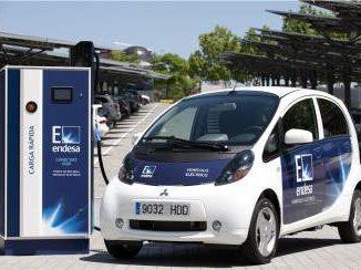 Endesa recarga de vehículo eléctrico