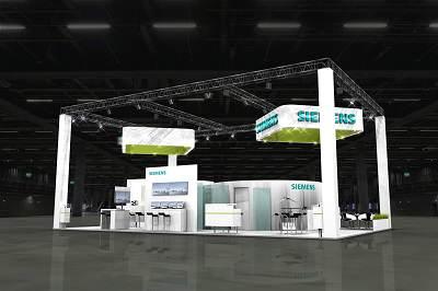 Stand de Siemens en Husum