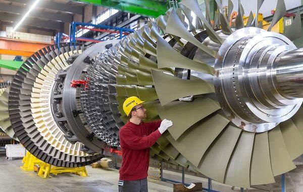 Turbina de gas Siemens