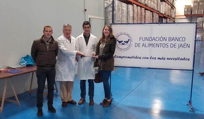 Marwen ingenieria y el Banco de Alimentos de Jaén