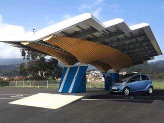 estacion fotovoltaica de recarga