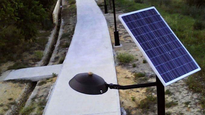 farolas solares-aznalfarache