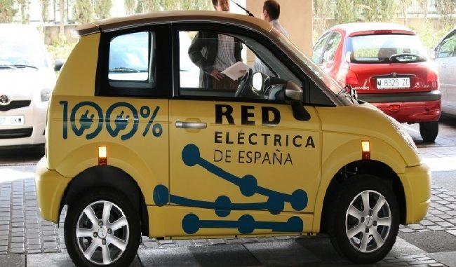 coche electrico de Red Electrica