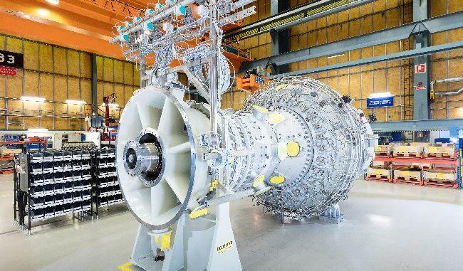 Siemens turbina de gas
