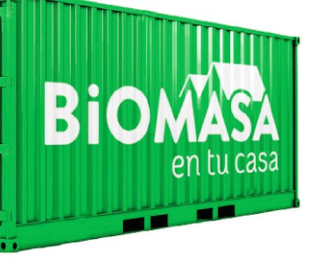 consumo de biomasa-Biomasa en tu casa