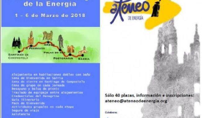 Camino de Santiago y Ateneo de energia