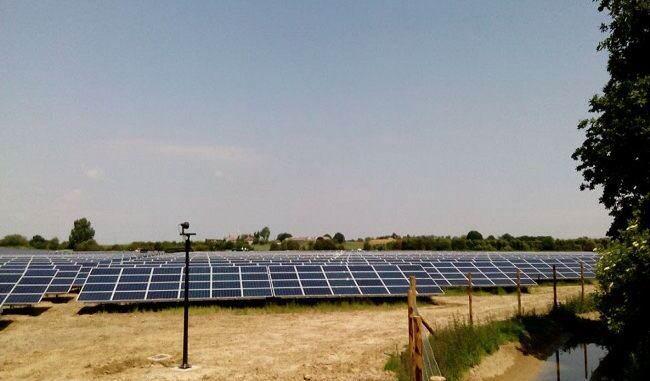 OPDE parques fotovoltaicos en Inglaterra