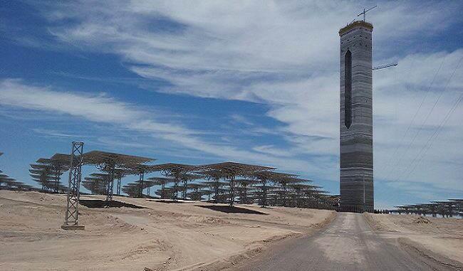 Cerro Dominador proyecto de abengoa