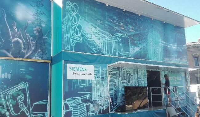 Siemens smartcity hub