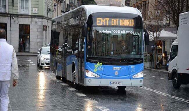 autobús eléctrico EMT