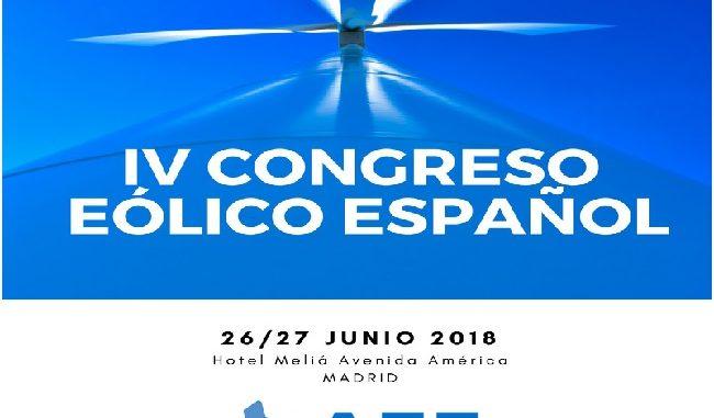 AEE y el IV Congreso Eólico Español