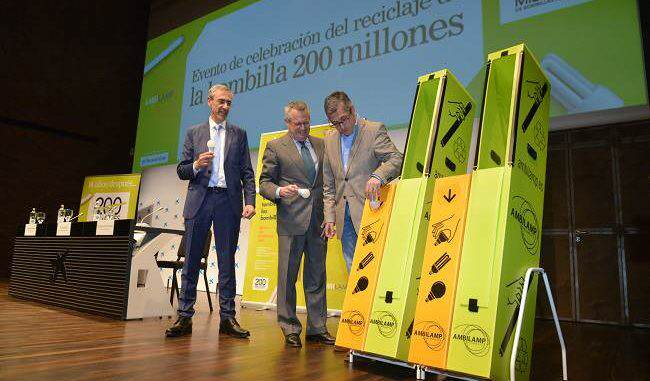 AMBILAMP reciclaje de Bombilla 200