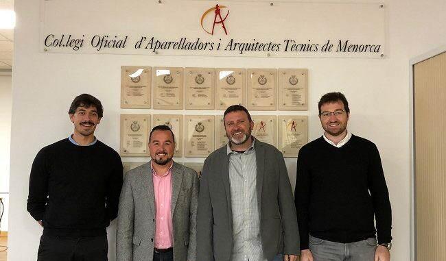 COAATE de Menorca firma el PEP