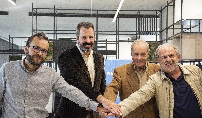 Los expertos de Meteored hablan sobre la Cumbre del Clima en las oficias de la compañía, ubicadas en Almendricos, Murcia.