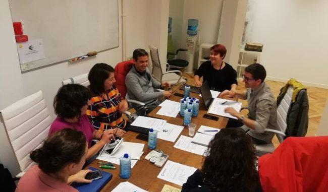 reunión de miembros de COPADE