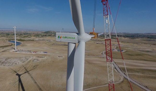 turbina eólica de Iberdrola