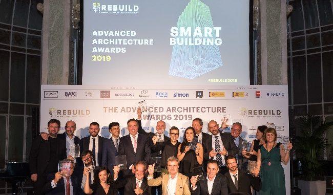 imagen de los premios REBUILD 2019