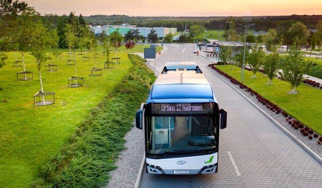 Solaris Urbino 12 hidrogeno