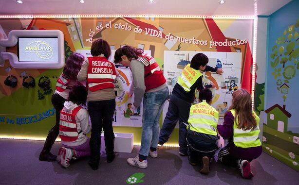 Escuela de Reciclaje-Ambilamp